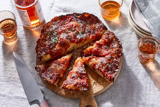 Crispy Cheesy Pan Pizza Recipe From King Arthur Flour