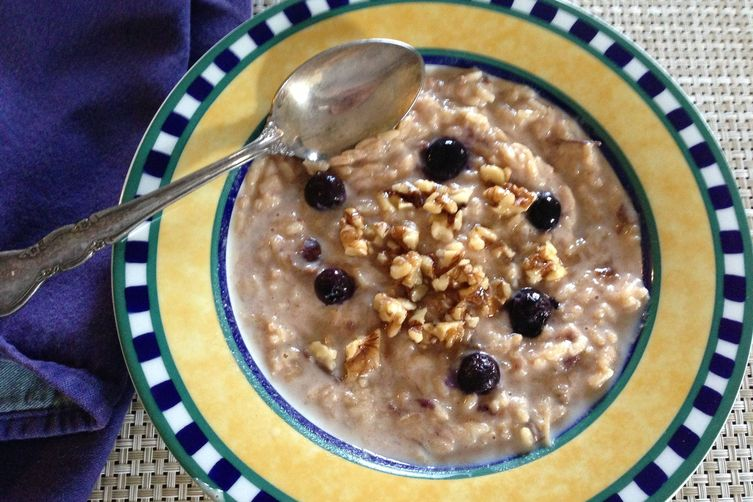 Brown Rice Breakfast Risotto