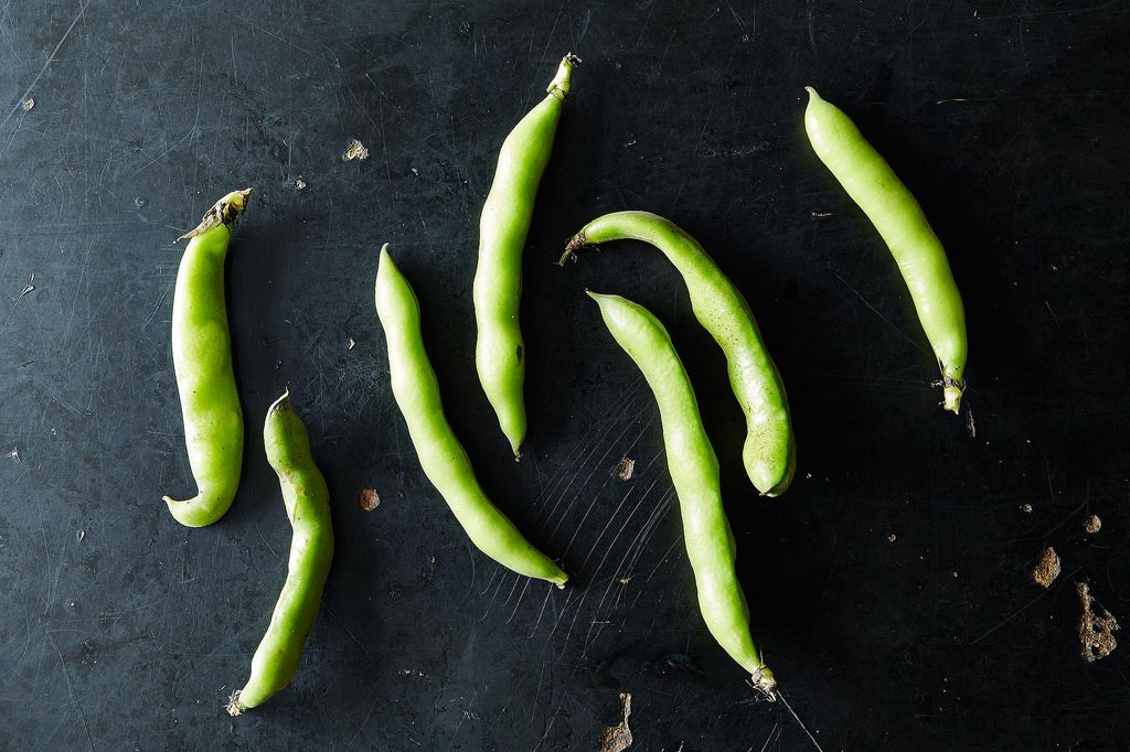 How to Prep Fava Beans, from Food52