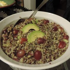 Peruvian Tri-Color Quinoa Salad