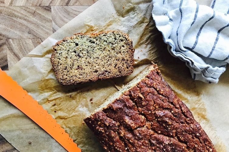 Avo Hemp Banana Bread