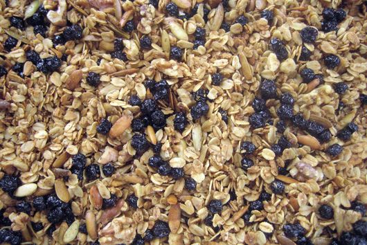 Maple Blueberry Granola