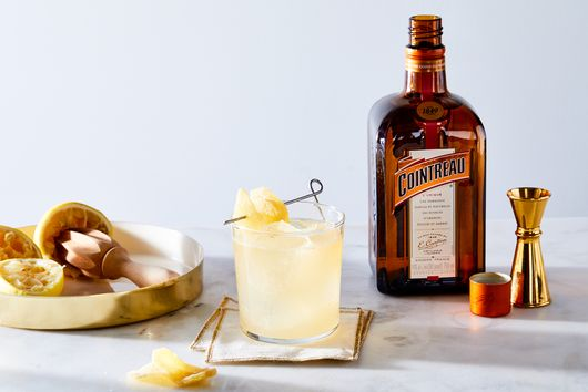 The R.B. Ginger (Rum & Ginger Cocktail with Cointreau)