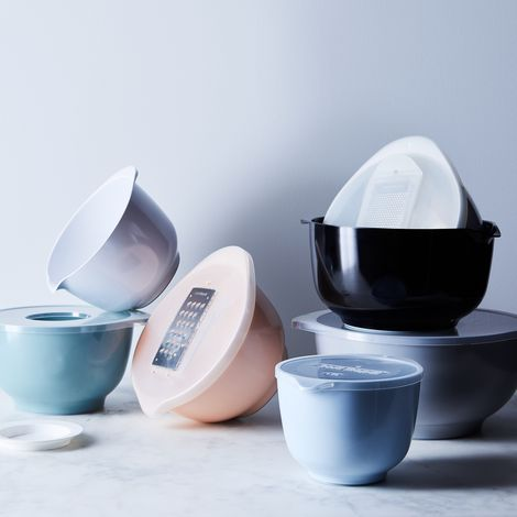 Food52 x Rosti Margrethe Nested Mixing Bowls & Specialty Lids