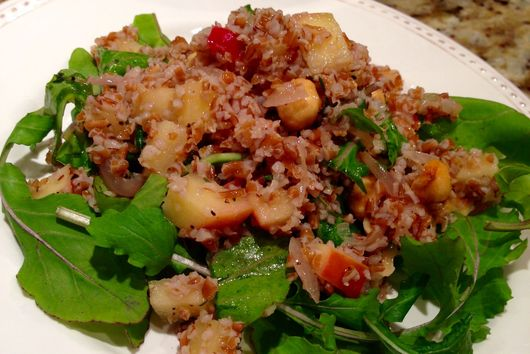 Apple and Bulgar Salad