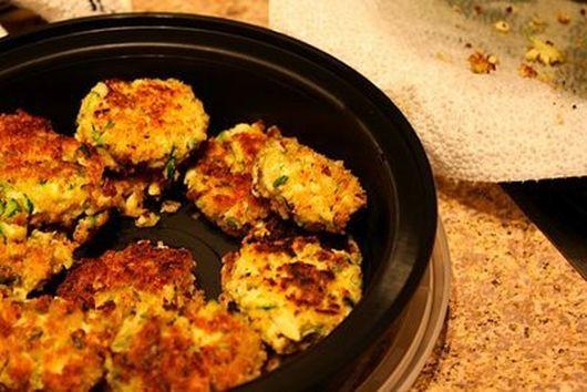 Zucchini Tofu Croquettes