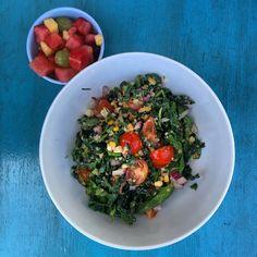 Summer Fresh Quinoa and Kale Salad