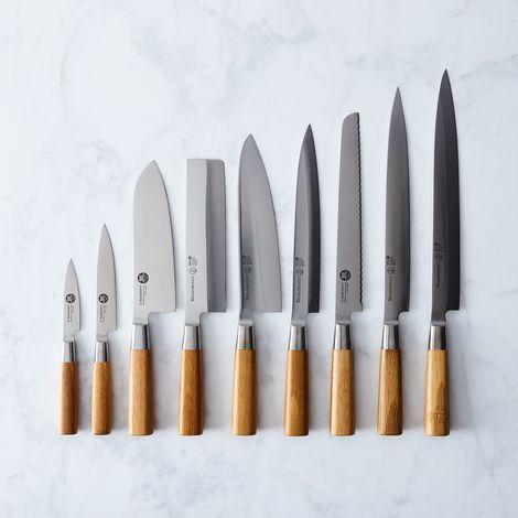 Mu Bamboo Japanese Steel Knives