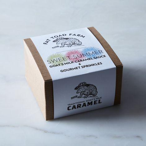 Ice Cream Sundae Caramel Gift Set