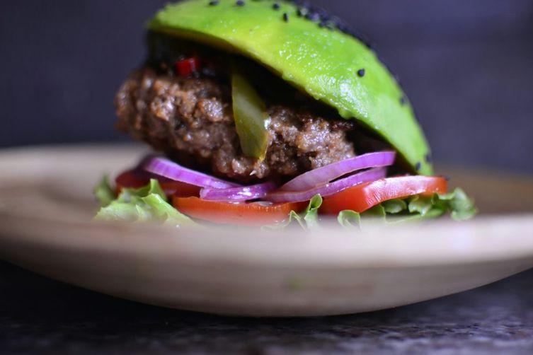 Avocado-Suya Burger