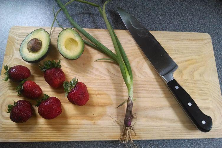 Strawberry & Avocado Salad
