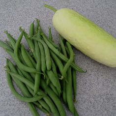 Cucumber, Green Bean and Dill salad