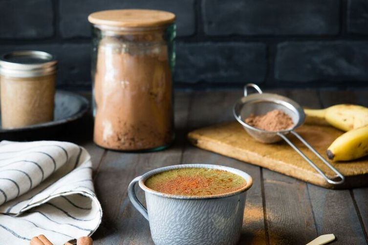 Mexican Hot Chocolate Green Smoothie