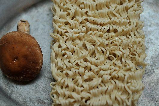 Ramen Stir-fry with Sesame, Shiitake, & Ginger