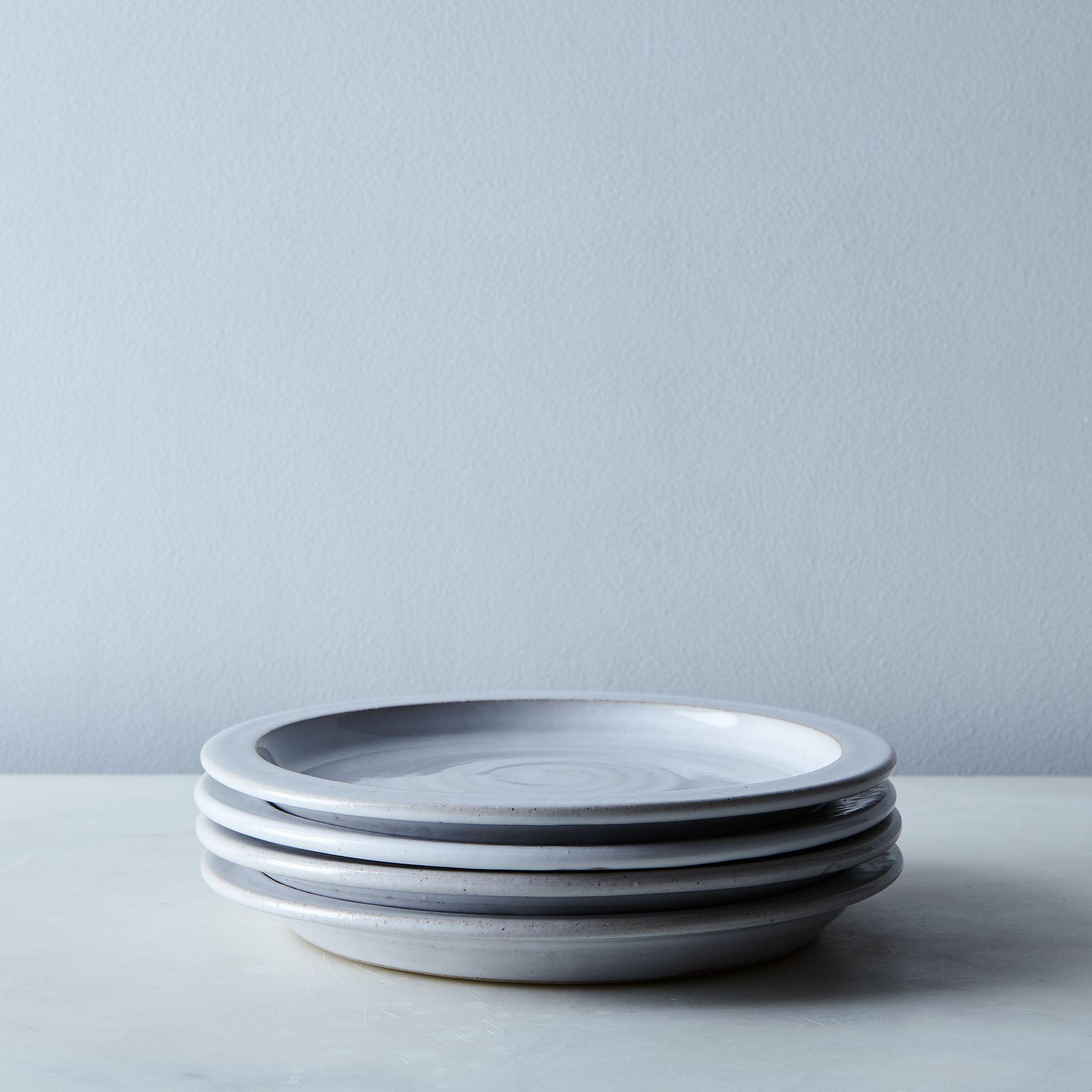 85a3d0dc bae3 4d5e 9ee9 bfdac5ef543e  2017 0315 farmhouse pottery handmade farmhouse dinnerware individual salad plate set of 4 silo rocky luten 001