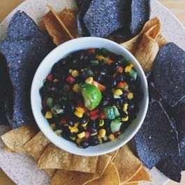 Homemade Black Bean Dip