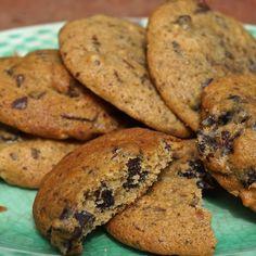 Chocolate Prune Cardamom Cookies