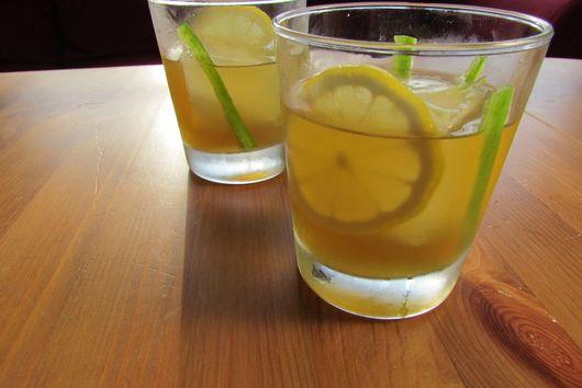 Maple-Jalapeño Bourbon Cocktail