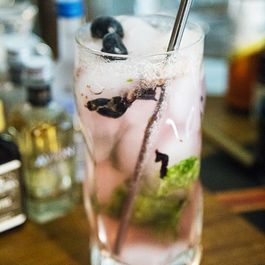 Blueberry Basil Lemonade Splash