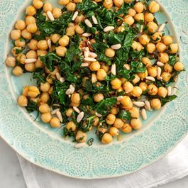 Spanish Chickpeas with Kale by NanciS