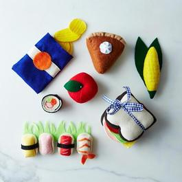Playtime Felt Food Set
