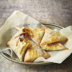 Vegetable Samosas by Munira Mahmud from the Hubb Community Kitchen