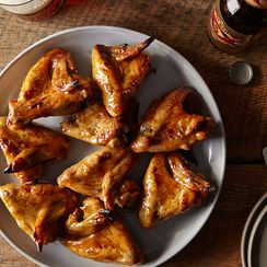 Honey Mustard Chicken Wings for Game Day