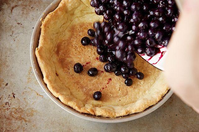 Tarte aux bleuets frais de Rose Levy Beranbaum de Food52