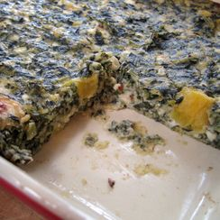 Spinach Cheese Bake