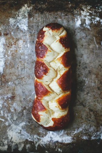 Pretzel Challah on Food52