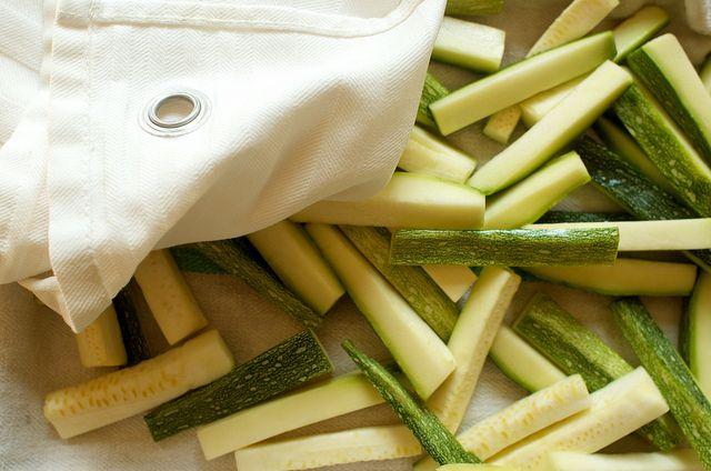 Zucchini batons