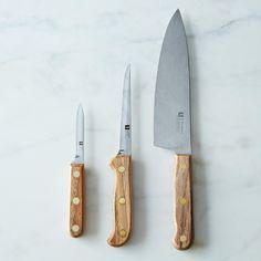 R. Murphy Reclaimed Wood Carbon Steel Knife