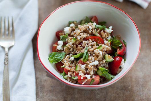 Israeli Farro Salad