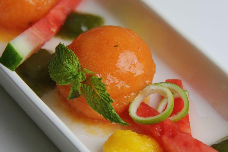 Mango-Watermelon Sorbet