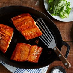 Mike's Hot Honey-Glazed Salmon