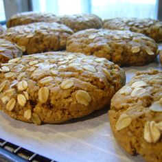 Chubby Chewy Whole Wheat Oatmeal Cookies