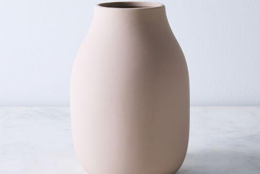 Matte Porcelain Vase