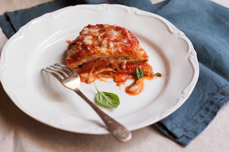 Classic Eggplant Parmigiana (Parmigiana di Melanzane)