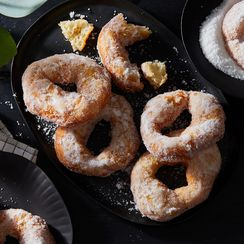 Simplest Sugared Doughnuts