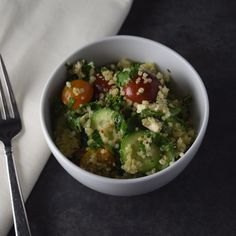 Quinoa Tabbouleh With Kale