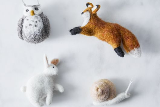 Handcrafted Felt Ornaments