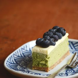 Green Tea And White Chocolate Cheesecake