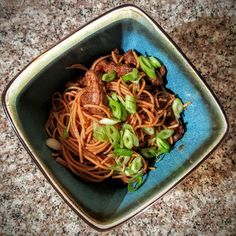 Crispy Beef with Noodles