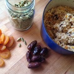 Apricot-Ginger Steel-Cut Oats