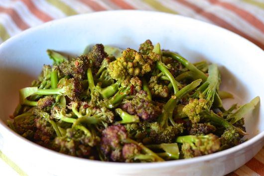 Spicy-Sour Romanesco