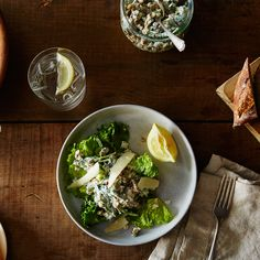 Peter Miller's Lentils Folded into Yogurt, Spinach, and Basil