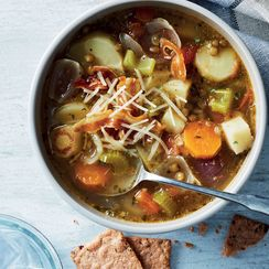 Slow-Cooker Lentil & Root Veggie Soup