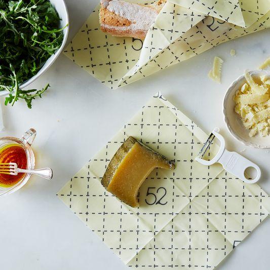 Food52 x Bee's Wrap Windowpane Print