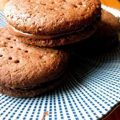 British nutella 'Bourbon' biscuits