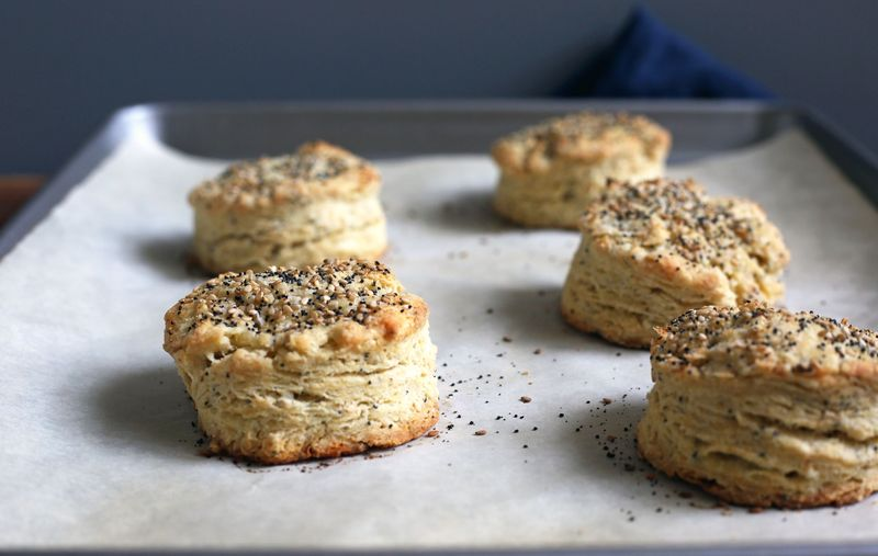 Everything Bagel Spice Scones